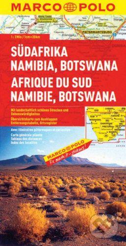 MAIRDUMONT Südafrika, Namibia, Botswana 1:2 000 000 - cena od 132 Kč