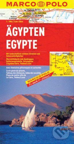 MAIRDUMONT Ägypten 1:1 000 000 - cena od 178 Kč