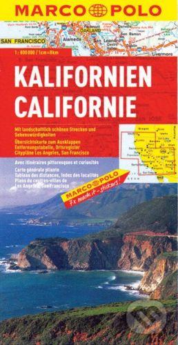 MAIRDUMONT Kalifornien 1:800 000 - cena od 199 Kč