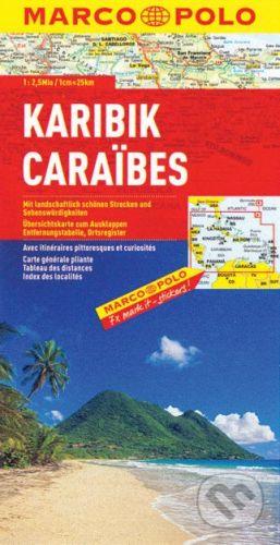 MAIRDUMONT Karibik 1:2 500 000 - cena od 178 Kč