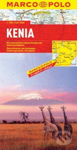 MAIRDUMONT Kenia 1:1 000 000 - cena od 178 Kč