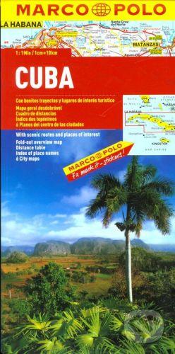 MAIRDUMONT Kuba 1:1 000 000 - cena od 206 Kč