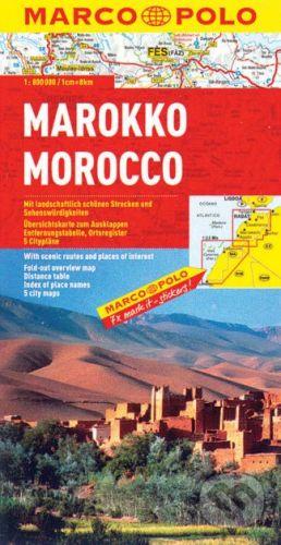 MAIRDUMONT Marokko 1:800 000 - cena od 178 Kč