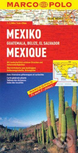MAIRDUMONT Mexiko 1:2 500 000 - cena od 178 Kč