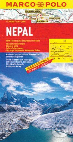MAIRDUMONT Nepal 1:750 000 - cena od 178 Kč