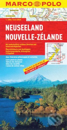 MAIRDUMONT Neuseeland 1:2 000 000 - cena od 160 Kč
