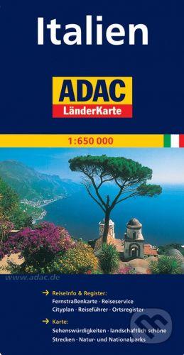 Itálie 1:650 000 cena od 160 Kč
