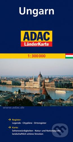 Maďarsko 1:300 000 cena od 135 Kč