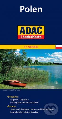 Polsko 1:700 000 cena od 160 Kč