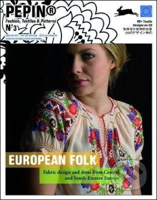 Pepin Press European Folk + CD - cena od 662 Kč