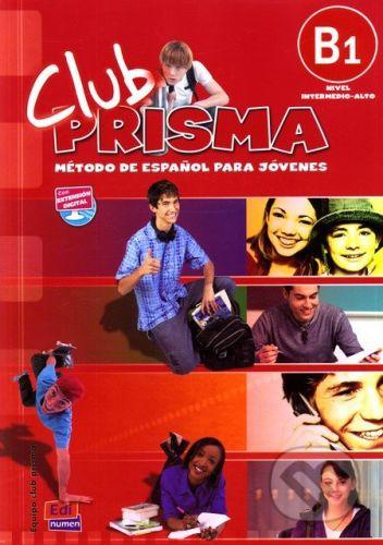 vydavateľ neuvedený Club Prisma B1 - Libro del alumno - cena od 399 Kč