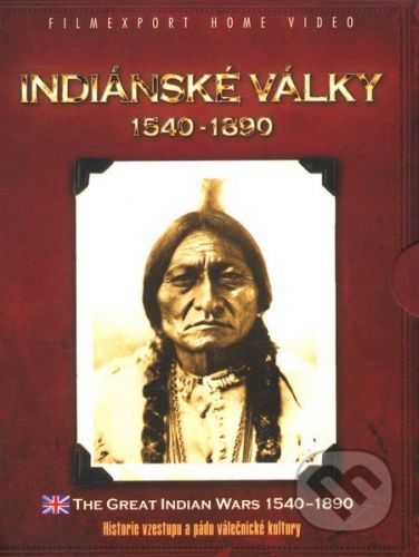 Indiánské války 1540 - 1890 - cena od 249 Kč