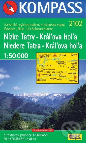 MAIRDUMONT Nízke Tatry - Kráľova hoľa 1:50 000 - cena od 84 Kč