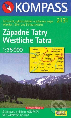 MAIRDUMONT Západné Tatry 1:25 000 - cena od 104 Kč