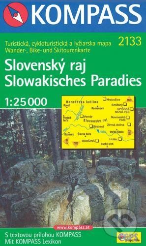 MAIRDUMONT Slovenský raj 1:25 000 - cena od 84 Kč