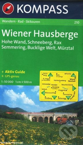 MAIRDUMONT Wiener Hausberge - cena od 173 Kč