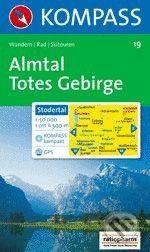 MAIRDUMONT Almtal Totes Gebirge - cena od 173 Kč