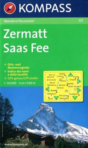 MAIRDUMONT Zermatt - Saas Fee - cena od 325 Kč