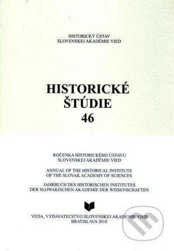 VEDA Historické štúdie 46 - cena od 243 Kč