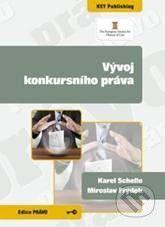 Key publishing Vývoj konkursního práva - Karel Schelle, Miroslav Frýdek cena od 144 Kč