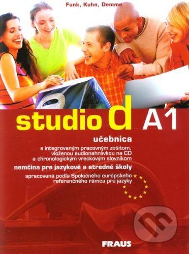 Fraus Studio d A1 - učebnica - cena od 311 Kč