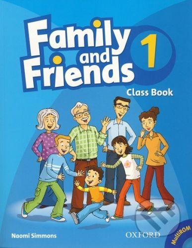 Oxford University Press Family and Friends 1 - Class Book - Noami Simmons cena od 273 Kč