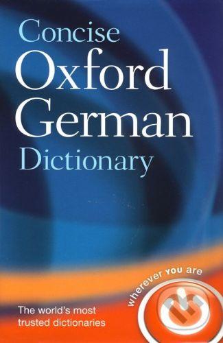 Oxford University Press Concise Oxford German Dictionary - cena od 536 Kč