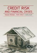 Karolinum Credit risk and financial crises - Magda Pečená, Petr Teplý cena od 314 Kč