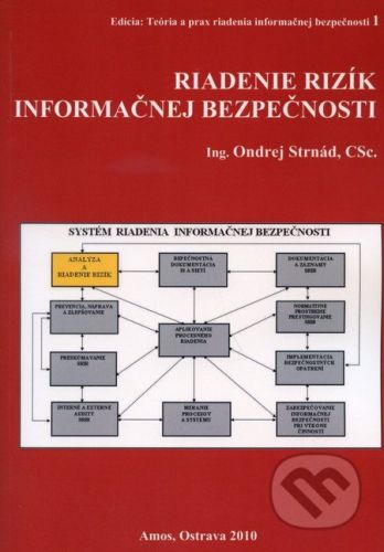 Amos Riadenie rizík informačnej bezpečnosti - Ondrej Strnád cena od 460 Kč