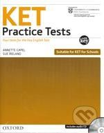 Oxford University Press KET Practice Tests with Answer Key - A. Capel, S. Ireland cena od 283 Kč
