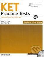 Oxford University Press KET Practice Tests with Answer Key - A. Capel, S. Ireland cena od 272 Kč
