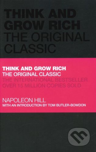 John Wiley & Sons Think and Grow Rich - Napoleon Hill cena od 329 Kč