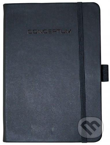 Sigel Notebook CONCEPTUM hardcover čierny A5 štvorček - cena od 354 Kč