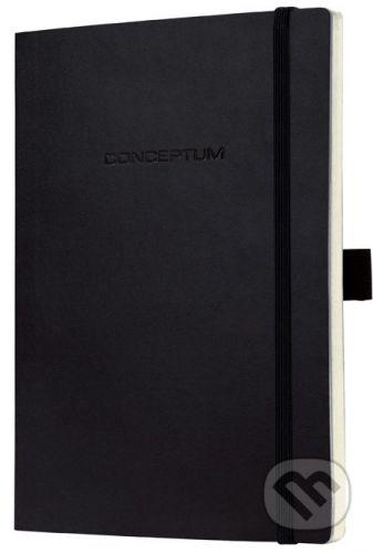 Sigel Notebook CONCEPTUM softcover čierny 18,7 x 27 cm štvorček - cena od 475 Kč