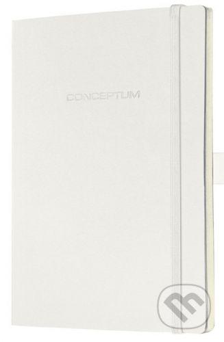 Sigel Notebook CONCEPTUM softcover biely 13,5 x 21 cm štvorček - cena od 397 Kč