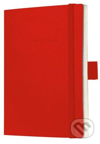 Sigel Notebook CONCEPTUM sofcover červený 13,5 x 21 cm čistý - cena od 397 Kč
