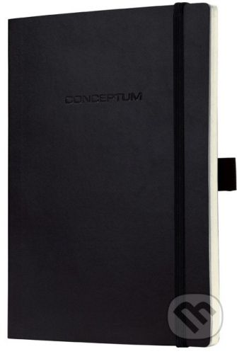 Sigel Notebook CONCEPTUM softcover čierny 9,3 x 14 cm čistý - cena od 209 Kč