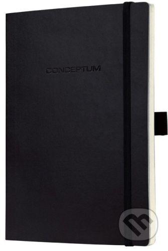Sigel Notebook CONCEPTUM softcover čierny 9,3 x 14 cm štvorček - cena od 214 Kč