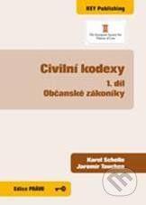 Key publishing Civilní kodexy - Občanské zákoníky - Karel Schelle, Jaromír Tauchen cena od 449 Kč