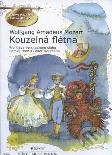 SCHOTT MUSIC PANTON s.r.o. Kouzelná flétna - Wolfgang Amadeus Mozart cena od 218 Kč
