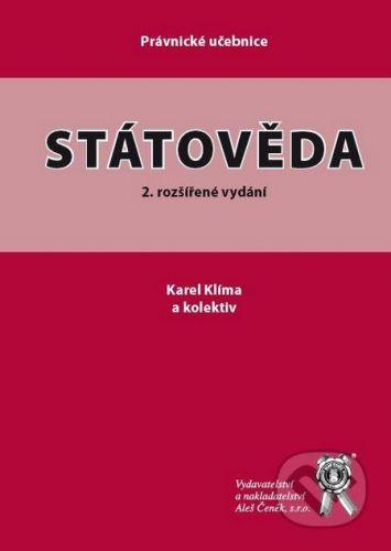 Aleš Čeněk Státověda - Karel Klíma a kol. cena od 415 Kč