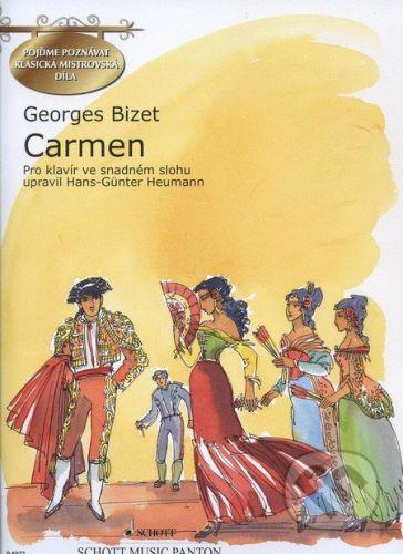 SCHOTT MUSIC PANTON s.r.o. Carmen - Georges Bizet cena od 230 Kč