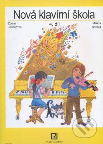 Janžurová Zdena: Nová klavírní škola 4 cena od 219 Kč