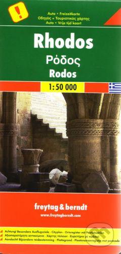freytag&berndt Rhodos 1:50 000 - cena od 190 Kč
