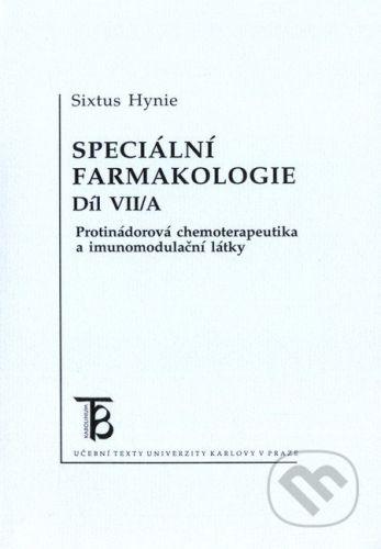 Karolinum Speciální farmakologie 7/A - Sixtus Hynie cena od 122 Kč
