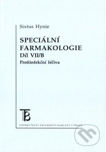 Karolinum Speciální farmakologie 7/B - Sixtus Hynie cena od 195 Kč