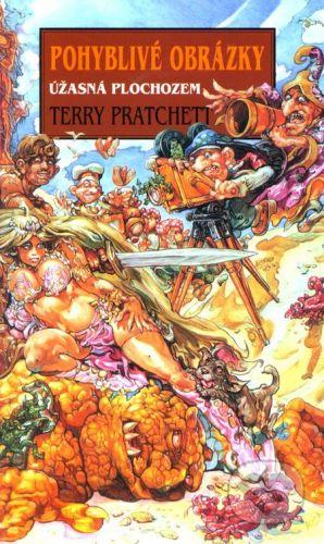 Talpress Úžasná Plochozem - Pohyblivé obrázky - Terry Pratchett cena od 151 Kč