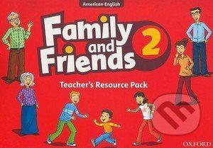 Oxford University Press Family and Friends 2 - Teacher's Resource Pack - cena od 606 Kč