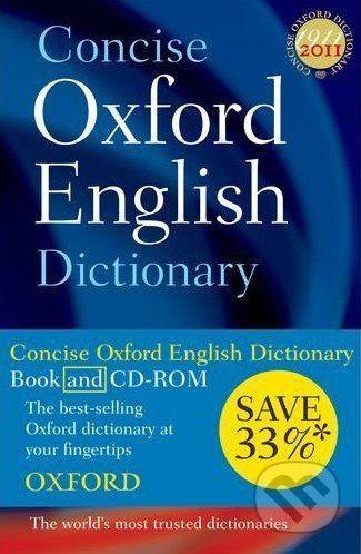 Oxford University Press Concise Oxford English - cena od 765 Kč