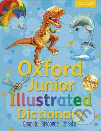 Oxford University Press Oxford Junior Illustrated Dictionary - cena od 358 Kč